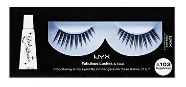 NYX Fabulous Lashes & Glue - 103 Sugarlicious