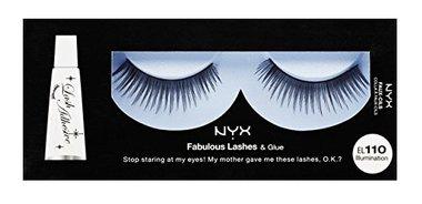 NYX Fabulous Lashes & Glue - 110 Illumination
