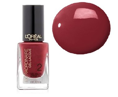 Loreal Extraordinaire Gel-Lacque Nail Color - 709 Rose To The Occasion