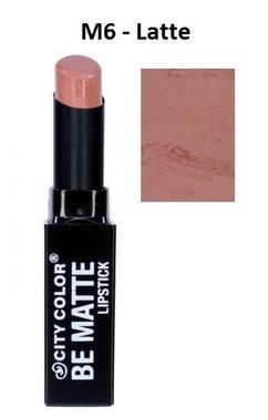 City Color Be Matte Lipstick - M6 Latte