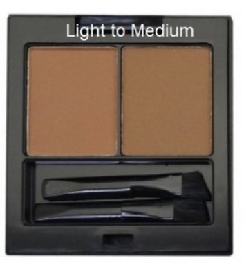 City Color Bold Brow Duo - Light to Medium