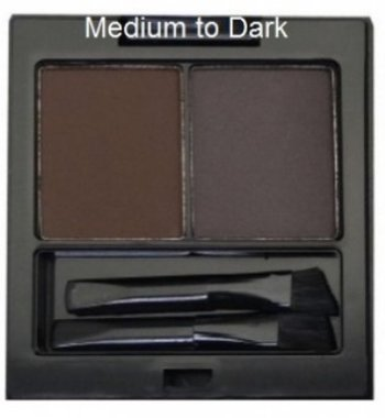 City Color Bold Brow Duo - Medium to Dark