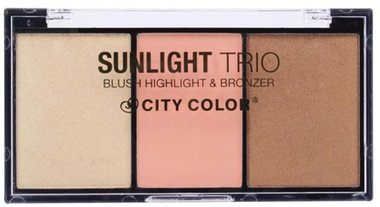 City Color Sunlight Trio Collection 2: Blush, Highlight & Bronzer