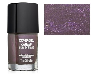 CoverGirl Outlast Stay Brilliant Nail Gloss - 280 Amethyst