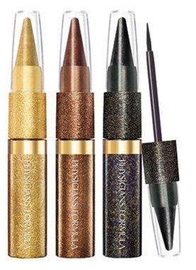 Physicians Formula Shimmer Strips Custom Eye Enhancing Extreme Shimmer Kohl Kajal + Liquid Liner Trio, Disco Glam - 6637 Glam Nude