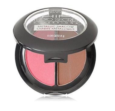 L'Oreal HiP Studio Secrets Professional Bright Eye Shadow Duos - 118 Brazen