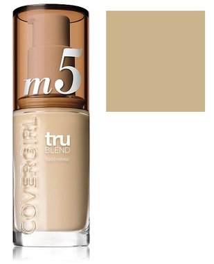 Covergirl TruBlend Liquid Foundation Makeup - m5 Caramel Beige