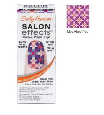 Sally Hansen Salon Effects Real Nail Polish Strips - 510 Mod About You