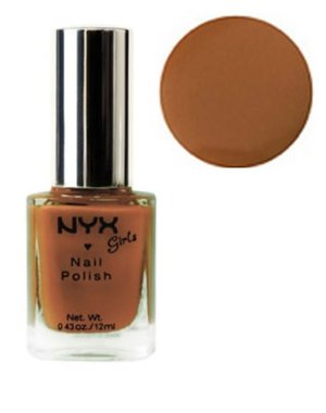 NYX Girls Nail Polish - NGP134 Dark Beige