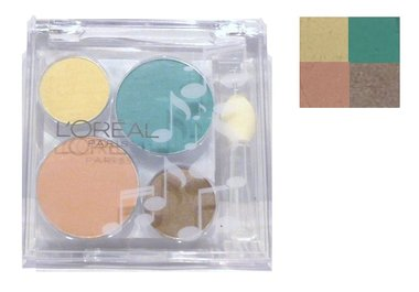 Loreal Wear Infinite Sheer Turntable Eyes Colour Eyeshadow Quad - Mixin' Vixen