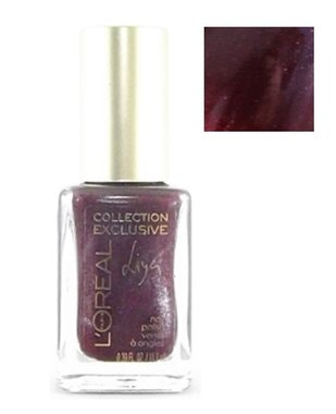 L'Oreal Collection Exclusive Nail Polish - 723 Liya's Red