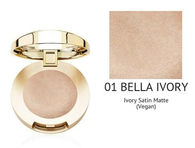 Milani Bella Eyes Gel Powder Eyeshadow Satin Matte - 01 Bella Ivory