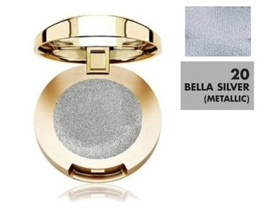 Milani Bella Eyes Gel Powder Eyeshadow Metallic - 20 Bella Silver
