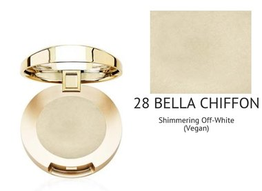 Milani Bella Eyes Gel Powder Eyeshadow Highlighter Shimmer - 28 Bella Chiffon