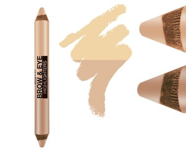 Milani Brow & Eye Highlighters - 01 Matte Beige/High Glow