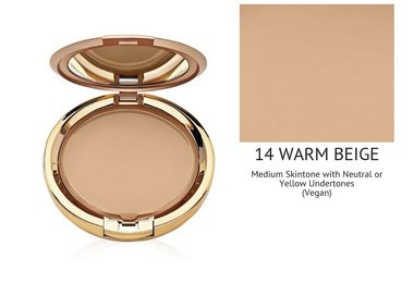 Milani Smooth Finish Cream To Powder Makeup - 14 Warm Beige