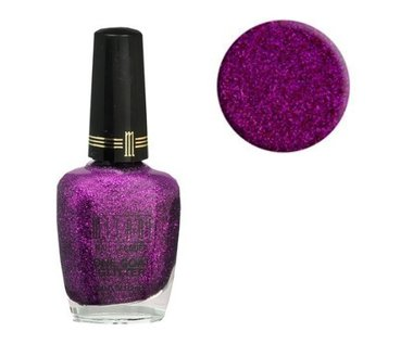 Milani One Coat Glitter Nail Lacquer - 524 Purple Gleam