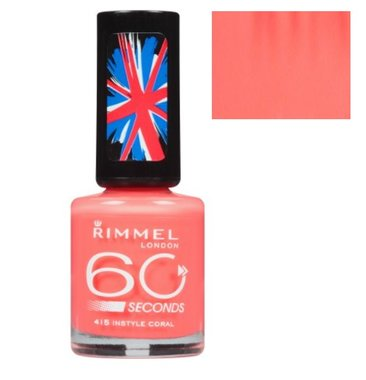 Rimmel London 60 seconds nagellak - 415 Instyle Coral