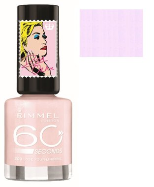 Rimmel London 60 Seconds Nail Polish Rita Ora Collection - 203 Lose your Lingerie