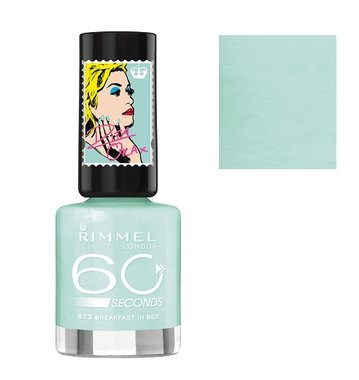 Rimmel London 60 Seconds Nail Polish Rita Ora Collection - 873 Breakfast In Bed