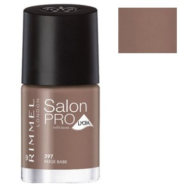 Rimmel London Salon Pro With Lycra Nail Polish - 397 Beige Babe