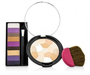 Physicians Formula POP Collection 2pc Make Up Kit - Shimmer Strips Eyeshadow and Powder Palette - 8661 Light to Medium