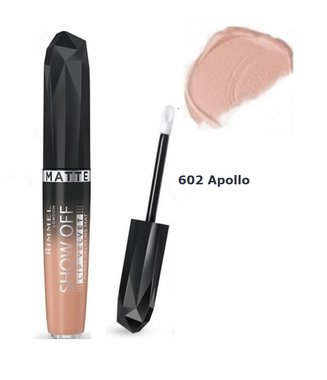 Rimmel London Show Off Lip Lacquer - 602 Apollo