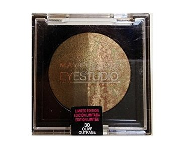 Maybelline Eye Studio Baked Shadow Duo - 30 Olive Outrage