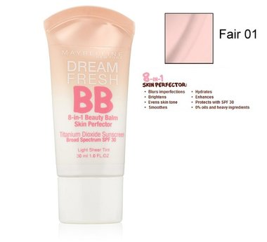 Maybelline Dream Fresh BB 8-in-1 Beauty Balm Skin Perfector SPF 30 - Light