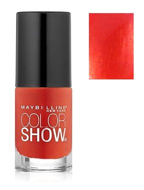 Maybelline Color Show Nail Lacquer - 130 Crushed Clementine