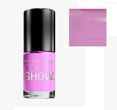 Maybelline Color Show Nail Lacquer - 165 Lust For Lilac