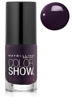 Maybelline Color Show Nail Lacquer - 185 Deep In Violet
