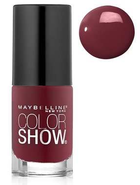 Maybelline Color Show Nail Lacquer - 215 Wine and Forever