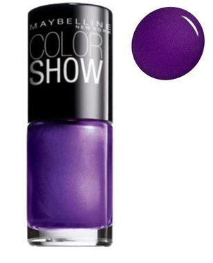 Maybelline Color Show Nail Lacquer - 905 Passionate Plum