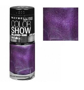 Maybelline Color Show Metallics Nail Lacquer - 90 Amethyst Ablaze