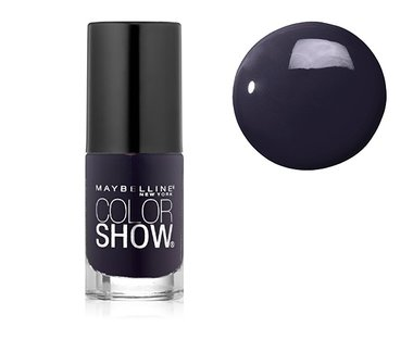 Maybelline Color Show Nail Lacquer - 345 Midnight Blue