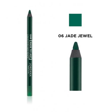 Jordana 12 Hr Made To Last Liquid Eyeliner Pencil - 06 Jade Jewel