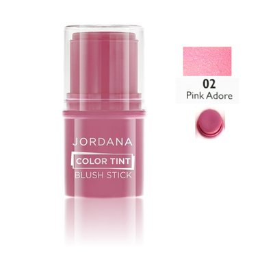 Jordana Color Tint Blush Stick - 02 Pink Adore
