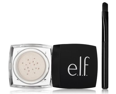 E.L.F. High Definition Undereye Concealer Setting Loose Powder for Your Face - 81510 Sheer - Brush Included
