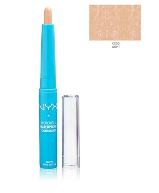 NYX Incredible Waterproof Concealer Stick - CS03 Light