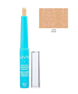 NYX Incredible Waterproof Concealer Stick - CS04 Beige