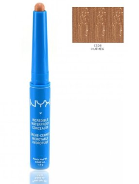 NYX Incredible Waterproof Concealer Stick - CS08 Nutmeg