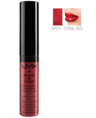 NYX Xtreme Shine Lip Cream Liquid Lipstick - XLC03 Spicy