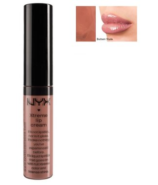 NYX Xtreme Shine Lip Cream Liquid Lipstick - XLC04 Buttery Nude