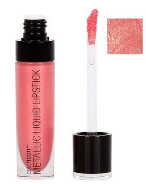 Wet 'n Wild Color Icon Metallic Liquid Lipstick - 34729 Peony Express