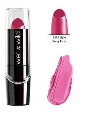 Wet 'n Wild Silk Finish Lipstick - 523B Light Berry Frost