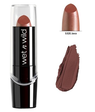Wet 'n Wild Silk Finish Lipstick - 532E Java