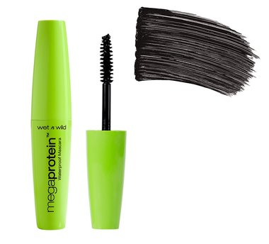 Wet 'n Wild Mega Protein Waterproof Mascara - C153A Very Black