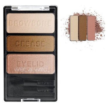 Wet 'n Wild Colour Icon Eyeshadow Trio - 380B Walking On Eggshells