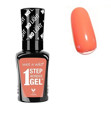 Wet 'n Wild 1 Step Wonder Nail Color Gel - 726A Pardon My Peach